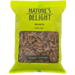 Photo of Natures Delight Walnut Halves 500gm
