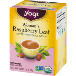 Photo of Yogi Woman's Raspberry Leaf Tea Bags - 16 Ct