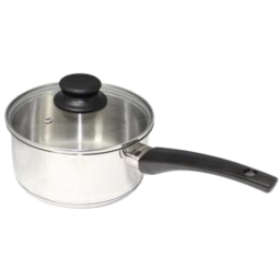 Photo of Sauce Pan With Glass Lid 18cm