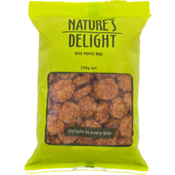 Photo of Natures Rice Puffs BBQ 250g