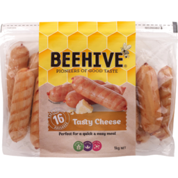 Photo of Beehive Frankfurters Cheese 1kg