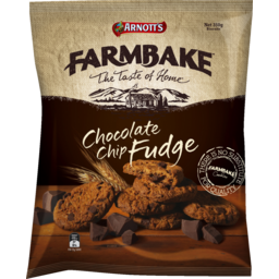 Photo of Arnott's Farmbake Cookies Chocolate Chip Fudge 350g