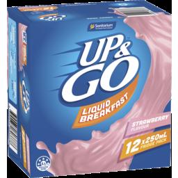 Photo of Up&Go Liquid Breakfast Strawberry 12x250ml