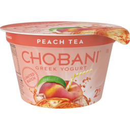 Photo of Chobani Peach Tea Greek Yogurt 170g