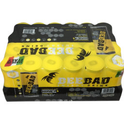 Photo of Beebad Energy Drink Can 24x250ml