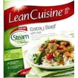 Photo of Lean Cuisine Steam Satay Beef & Rice 390g