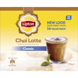 Photo of Lipton Instant Latte Sachets Chai Tea 16 Pack 370g