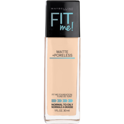 Photo of Maybelline Fit Me Matte & Poreless Mattifying Liquid Foundation - Classic Ivory 120