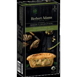 Photo of Herbert Adams Creamy Chicken & Leek Pies 2pk