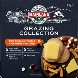 Photo of Mainland On The Go Dark Chocolate, Apple & Cranberries 75gm