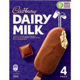 Photo of Cad Dairy Milk Vanilla 360ml 4pk