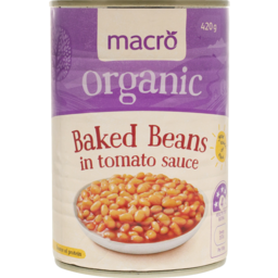 Photo of Macro Organic Baked Beans in Tomato Sauce 420g
