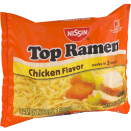 Photo of Nissin Top Ramen Oodles Of Noodles Chicken Flavor Ramen Noodle Soup