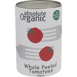 Photo of Absolute Organic Whole Peeled Tomatoes 400g