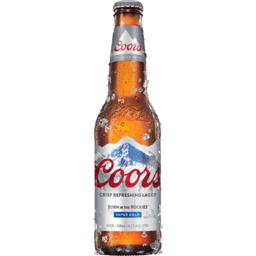 Photo of Coors Lager Bottles