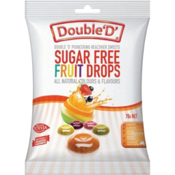 Photo of Double D Sugar Free Fruit Drops 90gm