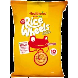 Photo of Healtheries Kidscare Rice Wheels Cheese 10pk