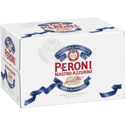 Photo of Peroni Nastro Azzurro Bottles 24x330ml