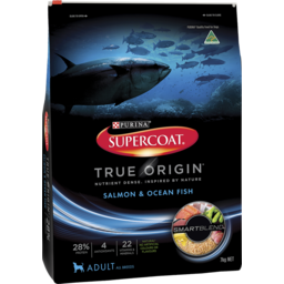 Photo of Supercoat Adult True Origin Salmon & Ocean Fish Dry Dog Food 7kg