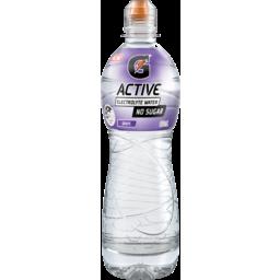 Photo of Gatorade G-Active Grape No Sugar Electrolyte Water 600ml