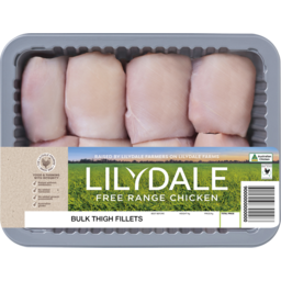Photo of Lilydale Bulk Chicken Thigh Fillet p/kg