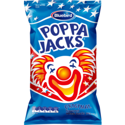 Photo of Bluebird Poppa Jacks Extruded Snacks Regular 100g