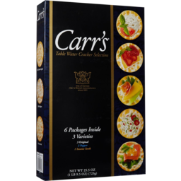 Photo of Carr's Table Crackers