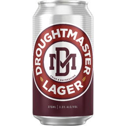 Photo of Droughtmaster Lager Can
