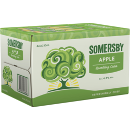 Photo of Somersby Apple Cider Bottle 330ml 24 Pack