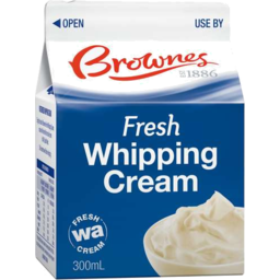Photo of Brownes Whipping Cream 300ml