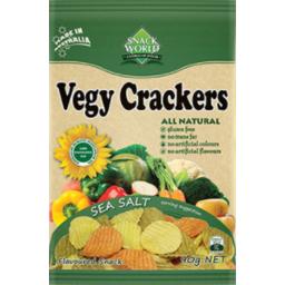 Photo of Snack World Vegy Crackers Sea Salt 90gm