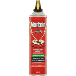 Photo of Mortein Kill & Protect Barrier Outdoor Insect Surface Spray Crawling Insect 350g