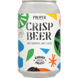Photo of Garage Project Crisp Beer Dry Hopped Dray Lager 330ml