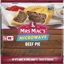 Photo of Mrs Mac's Microwave Beef Pie 175g