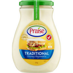 Photo of Praise Traditional Mayonnaise 470gm