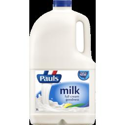 Photo of Pauls Full Cream Milk 3l