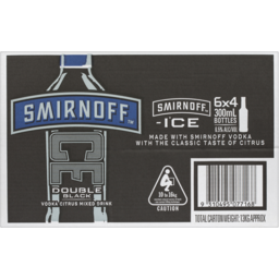 Photo of Smirnoff Ice Double Black Stubbies