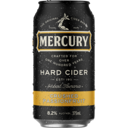 Photo of Mercury Hard Cider Passionfruit Can