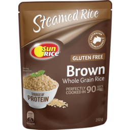 Photo of Sunrice 90 Second Rice Brown 250g