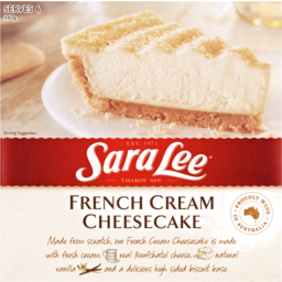 Photo of Sara Lee Cheesecake French Cream 360g 360g