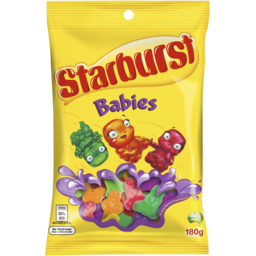 Photo of Starburst Babies Lollies Medium Bag 180g