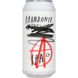Photo of Abandoned Brewery Indian Pale Ale 440ml