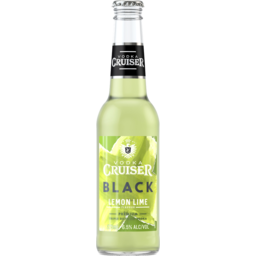 Photo of Vodka Cruiser Black Lemon Lime Bottles