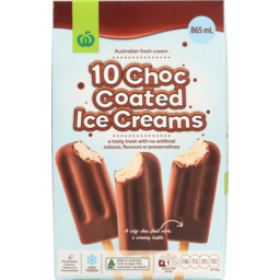 Photo of WW Choc Coated Ice Cream 10 Pack