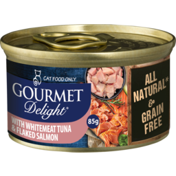 Photo of Snappy Tom Gourmet Delights With Tuna Salmon Fillet 85g