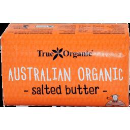 Photo of True Organic Australian Organic Salted Butter 250g