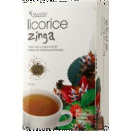 Photo of Morlife - Licorice Zinger - 25 Tea Bags