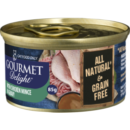 Photo of Gourmet Delight With Chicken Mince In Gravy 85g