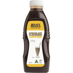 Photo of Black & Gold Topping Chocolate 600ml