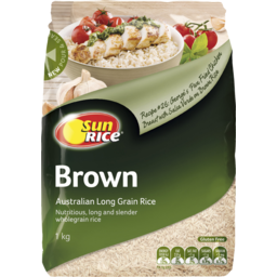 Photo of Sun Rice Brown Long Grain Rice